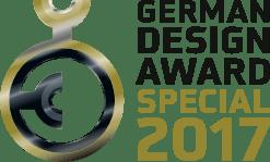 logo german design award - ENERCON By Hund, les spécialistes IT l'apprécient déjà !
