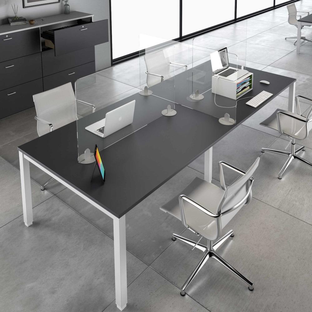NEKA8 - Panneau Plexiglas pour bureaux