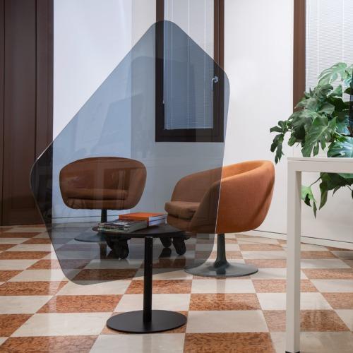 cudo2 - Panneau Plexiglas pour bureaux