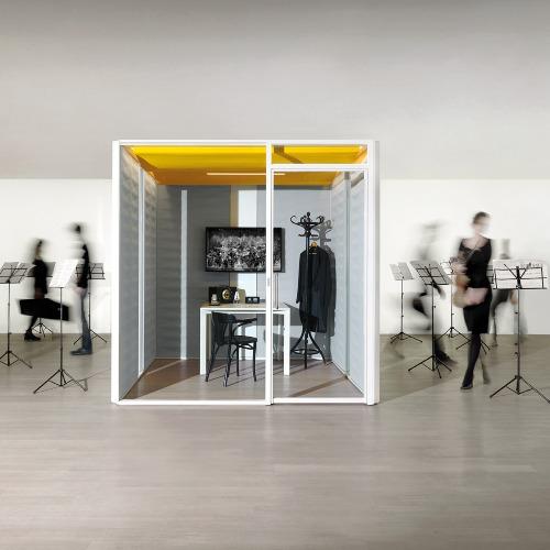 cabine acoustique - Les espaces collaboratifs