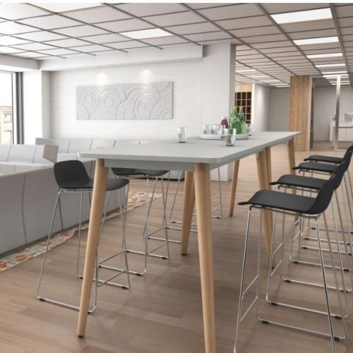 table haute nil mobel - Les espaces collaboratifs